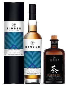 Bimber-Bundle-EX-BOURBON-Single-Cask-205-Whisky-Switzerland-Edition-plus-Da-Hang-Pao-Gin-70cl-each-Bottle