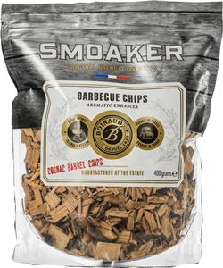 Smoaker-Cognac-Barrel-Barbecue-Wood-Chips-Bois-de-fumage-400gr