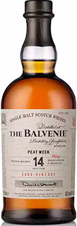 Balvenie-Single-Malt-Whisky-14-ans-Peat-Week-2003-2017-70cl