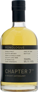 Isle-of-Jura-1998-21-Ans-Chapter-7-Single-Malt-Whisky-Monologue-1-70cl-Bouteille