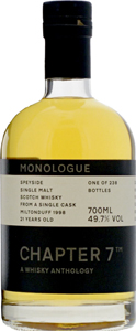 Miltonduff-1998-21-years-old-Chapter-7-Single-Malt-Whisky-Monologue-3-70-bottle