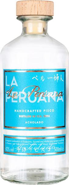 la-peruana-acholado-pisco-artisanal-du-perou-50cl