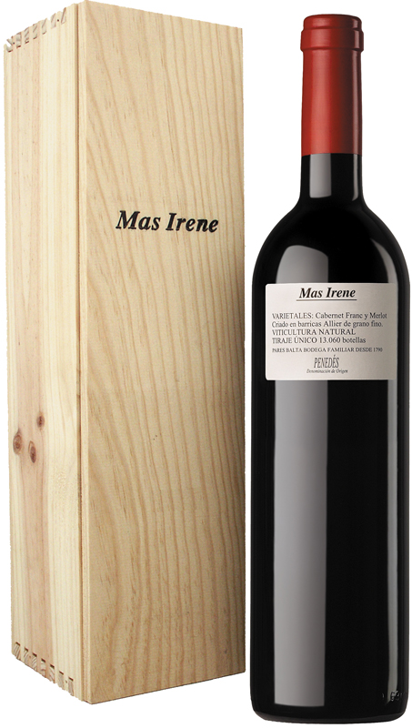 pares-balta-mas-irene-2015-organic-biodynamic-spanish-red-wine-Jeroboam-bottle