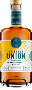 Spirited-Union-Queen-Pineapple-Spice-botanical-Rum-70cl-bottle