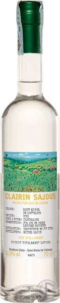 Clairin Sajous 3.1 Over proof Agricole Rhum d'Haïti 51% - 70cl