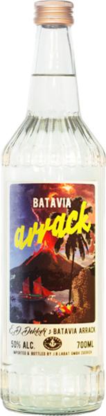 E.D. Dekker's Batavia Arrack 50% - 70cl - Indonesian Rum