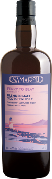 Samaroli Ferry To Islay 2019 Blended Malt Scotch Whisky 55.10% - 70cl